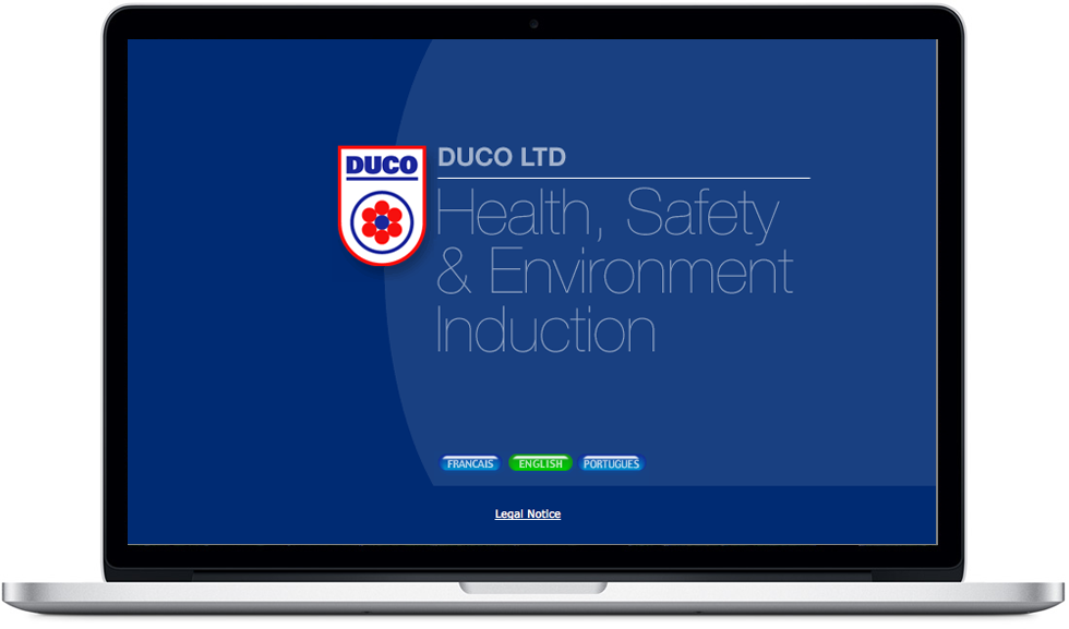 DUCO Contractor Induction