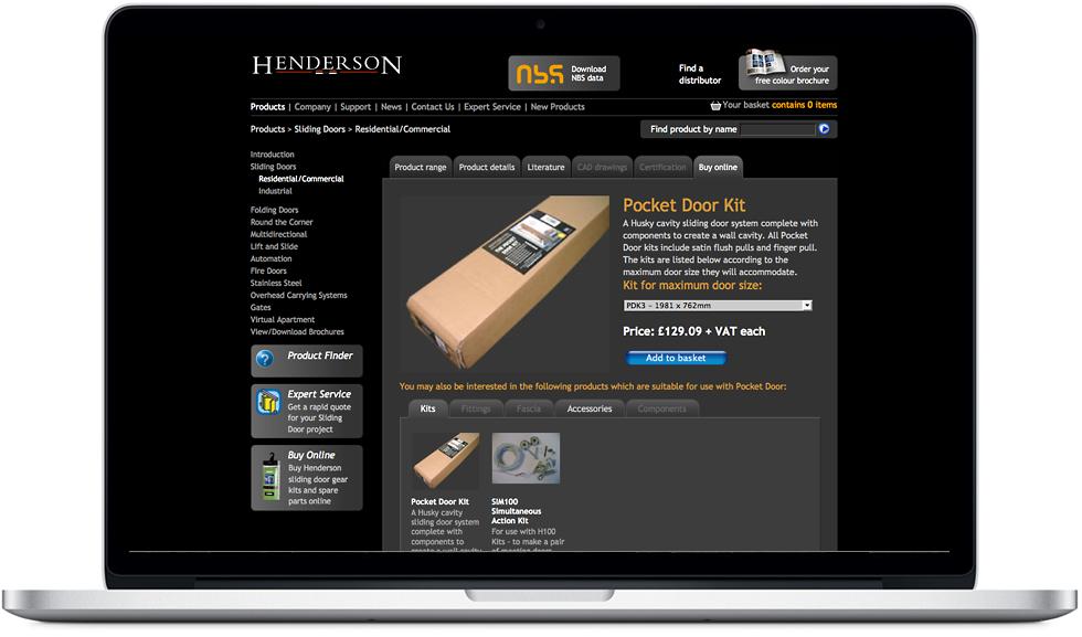 P C Henderson website