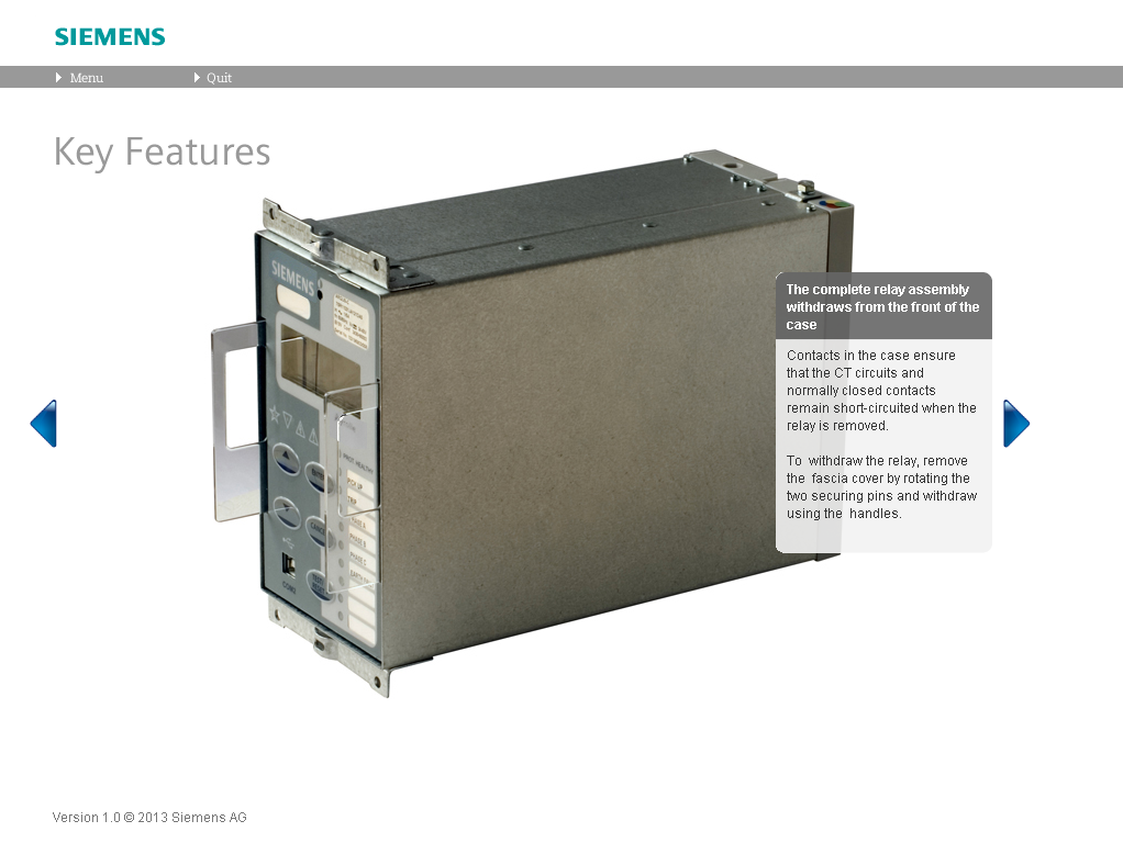Siemens Rho Virtual Relay